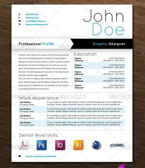 Beautiful Resume Graphic Design by Beautiful Graphic Design Resumes Things I Like