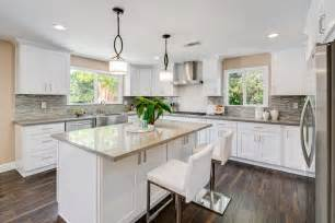 cing kitchen ideas contemporary kitchen with u shaped kitchen island in pasadena ca zillow digs
