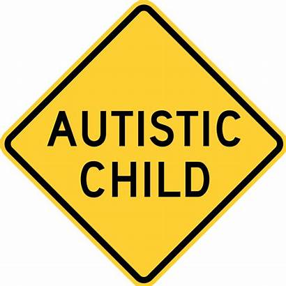 Autistic Child Sign Svg Warning Ocean Signs