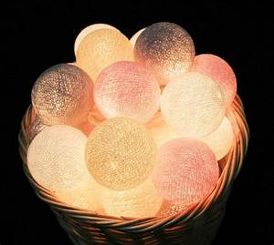 Cotton Ball Lights : sfeermaker cotton light balls lifestyle rubriek ~ Eleganceandgraceweddings.com Haus und Dekorationen