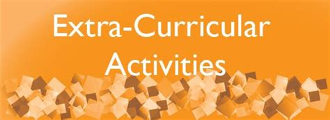 Extracurricular Activity Exles by Extracurricular Activities Definition Is A Hobby An
