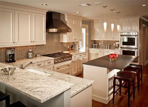 bianco romano granite countertops kitchen traditional with