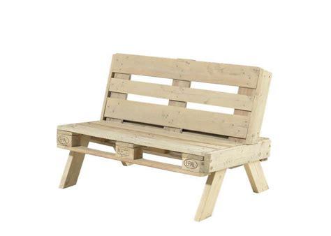 canapé en palette de bois canapé de jardin en palette en bois