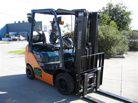 toyota lpg container mast forklifts