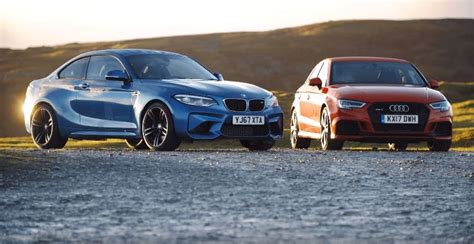 video bmw m2 audi rs3