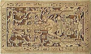 Mayan Astronaut Carving (page 2) - Pics about space