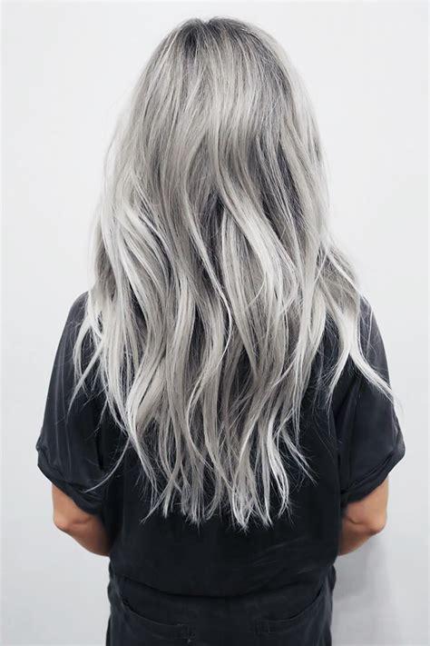 Best 25 Grey Hair New Trend Ideas On Pinterest Grey