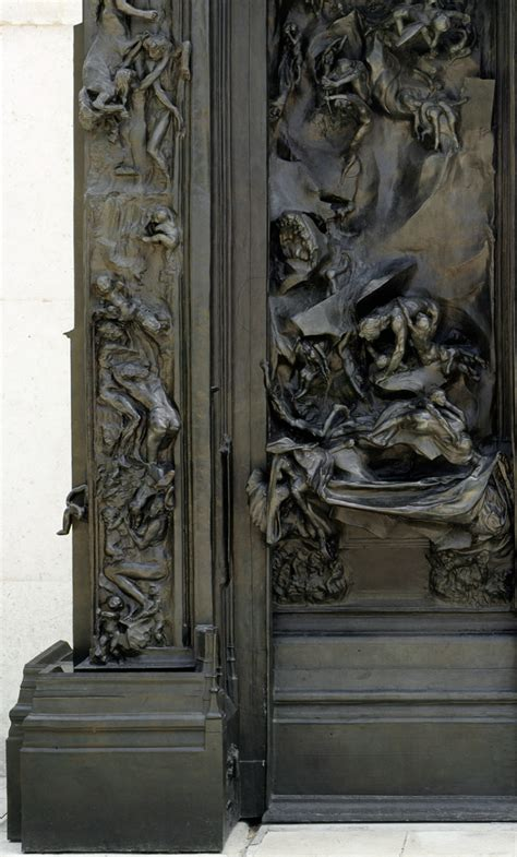 la porte des enfers la porte de l enfer mus 233 e rodin