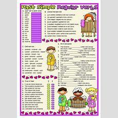Past Simple Regular Verbs Worksheet  Free Esl Printable Worksheets Made By Teachers