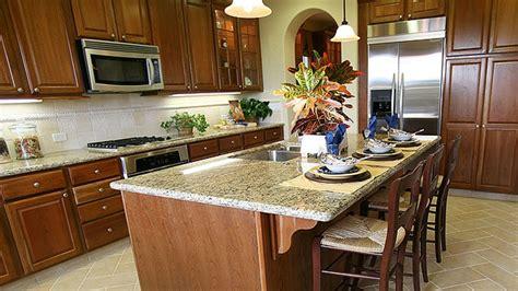 kitchen granite countertops santa cecilia granite with