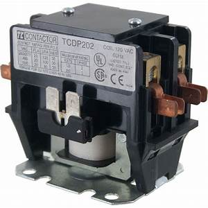 2 Pole Contactor 20 Amp 120vac Coil