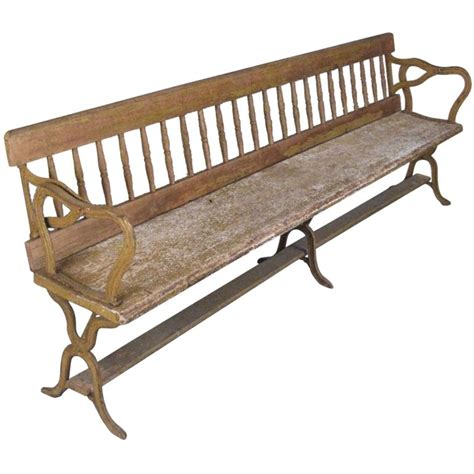 Unique Benches For Sale by Antique Railway Seat Back Flips Up And To