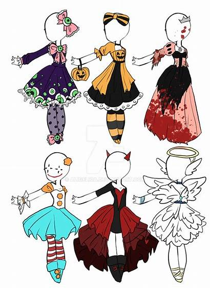 Halloween Drawing Anime Outfits Doll Deviantart Outfit