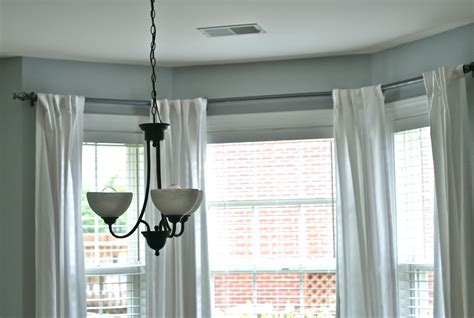 curtain rod for bay window lowes home design ideas
