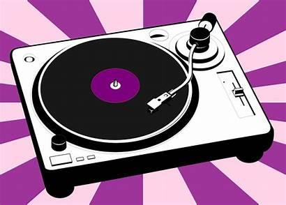 Turntable Vinyl Pixabay Record Disco Graphic Vector