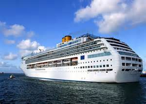 designer shops cruise ship costa picture data facilities and sailing schedule