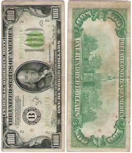 1934 100 Dollar Bill