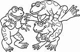 Frog Coloring Pages Frogs Printable Results sketch template