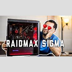 The Raidmax Sigma Build [awesome $80 Case Review] Youtube