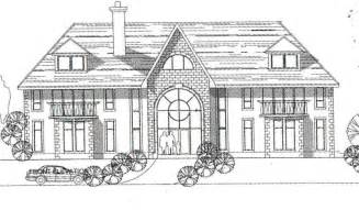 draw house plans how to draw big house