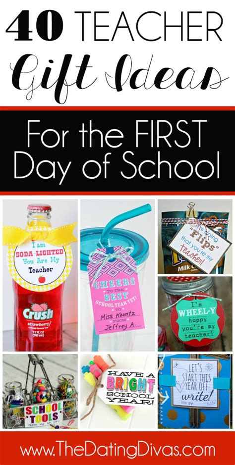 gift ideas for any time of year the dating divas 121   40 Teacher Gift Ideas for the First Day of School