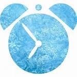 Ice Clock Icon Alarm Icons