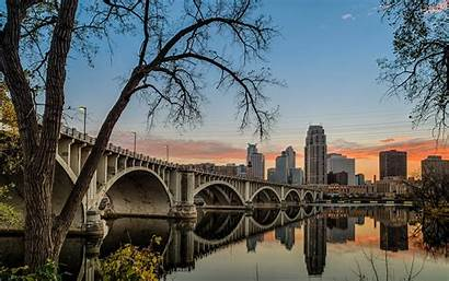 Minnesota Mississippi Bridge Wallpapers 35w River Minneapolis