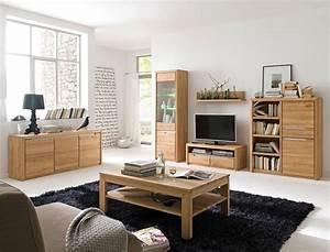 Wohnwand Eiche Massiv Bianco : wohnzimmer pisa 48 eiche bianco massiv 6 teilig wohnwand ~ Bigdaddyawards.com Haus und Dekorationen