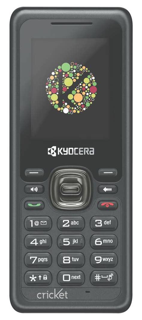 cricket wireless smartphones kyocera s1310 domino prepaid phone cricket