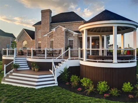 Backyard Porch Designs For Houses by Amazing Deck Designs Hgtv