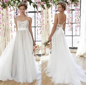 beautiful lace wedding dresses 2015 new arrival beautiful lace appliques wedding gowns straps wedding dresses backless