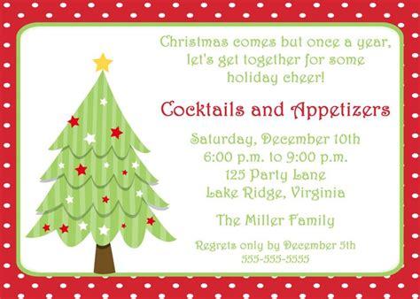 Free Printable Christmas Invitation Template Printable