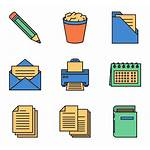 Icon Office Icons Supplies Flaticon Freepik Designed