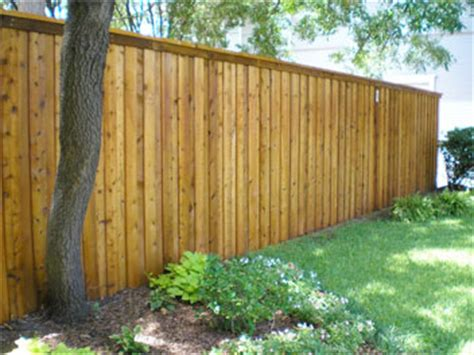 pre stained fence material supply viking fence dallas