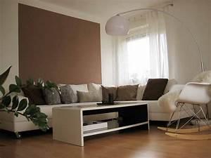 Graue Wand Wohnzimmer : farbgestaltung wohnzimmer braune m bel wohnzimmer home ideas pinterest wohnzimmer braun ~ Indierocktalk.com Haus und Dekorationen