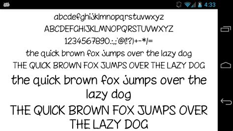 fonts for android fonts for flipfont 50 written android apps on play