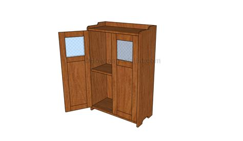 wood cabinet plans howtospecialist   build step