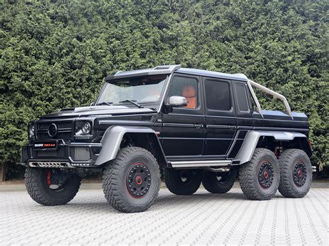 2013 Brabus Mercedes Benz G63 Amg 6x6 W463 Pickup Offroad