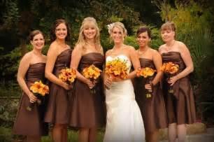 fall color bridesmaid dresses bridesmaid dresses for fall wedding seasons autumn wedding flower and