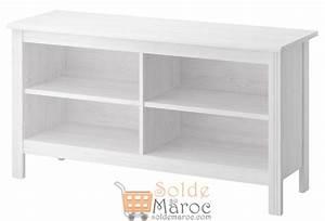 Meubles Soldes Ikea : soldes ikea maroc meuble tv brusali blanc 550dhs ~ Melissatoandfro.com Idées de Décoration