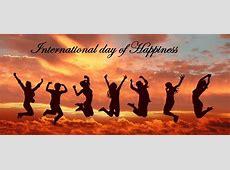 International Day of Happiness National Awareness Days