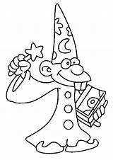 Wizard Coloring Pages sketch template