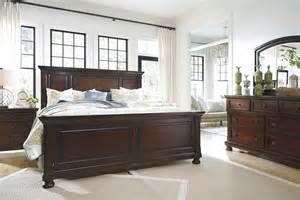 Porter King Sleigh Bed by Bedroom Fancy Ashley Furniture Bedroom For Awesome
