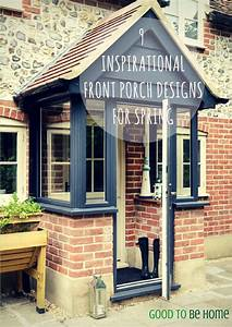 9 awesome spring design ideas for your front porch With porch interior ideas uk