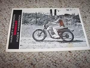 1966 Harley Davidson Bobcat Motorcycle Owner User Guide
