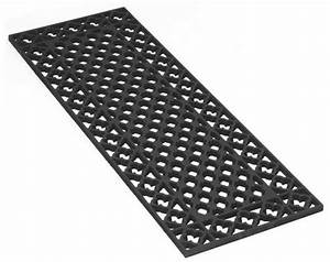 cast iron floor grill or grate 800mm length With wrought iron floor grates