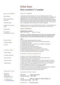 concierge resume for building construction cv template description cv writing building curriculum vitae exles