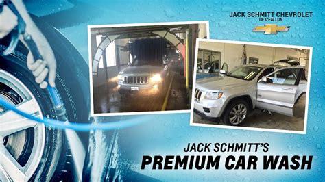 jack schmitts premium car wash jack schmitt chevrolet