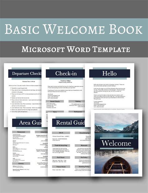 basic  book vacation home  book template