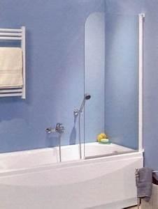 Pare Douche Pour Baignoire : paroi de baignoire 1 panneau pivotant novellini ~ Premium-room.com Idées de Décoration